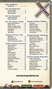 VBS 2012 Catalog Contents Page