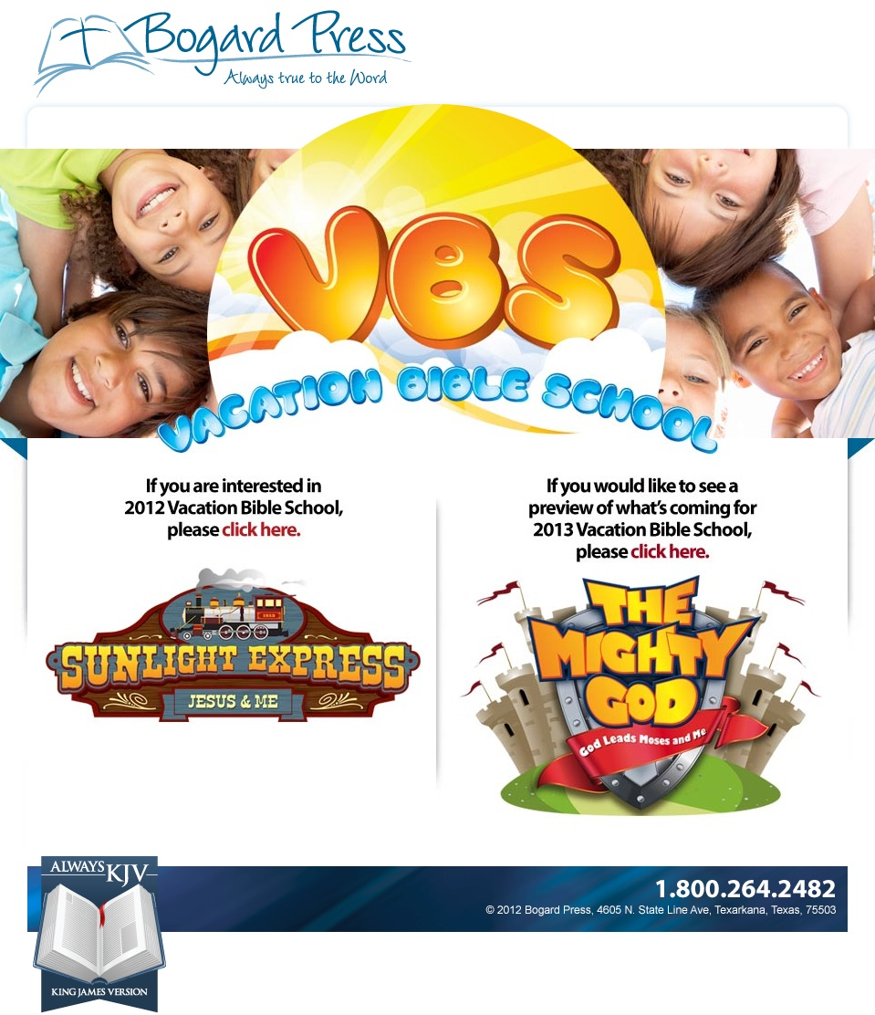 New VBS Website